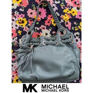 Blue Astor Grommet Bag | Michael Kors